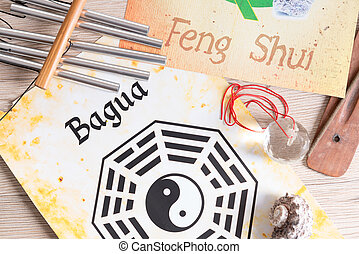 Concept image of Feng Shui - Conceptual image of Feng Shui...