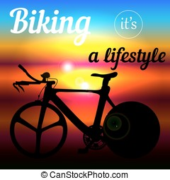 Cycling as a lifestyle