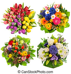 Flower bouquets Birthday, Wedding, Mothers Day, Easter