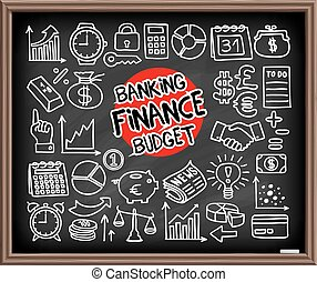 Doodle Finance icons - Doodle Finance, Banking and Budget...