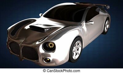 loop luxury brandless sport car