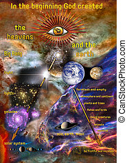 The creation of heaven and earth - images:...