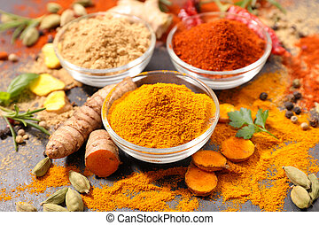 assorted spices