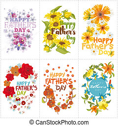 Happy Fathers day - Set of six mnemonics for Fathers day...