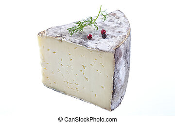 Tomme de Savoie, a semi firm french cheese - Tomme de...