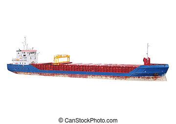 Cargo port in St. Petersburg