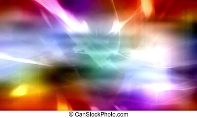 Abstract multicolor R3 Loop - Abstract multi color animated...
