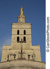 Avignon Cathedral Facade, France