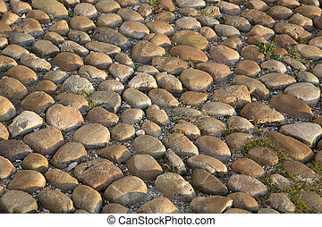 Cobble Stones in Avignon, France