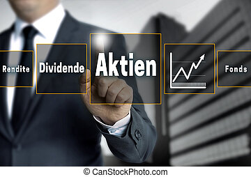 Aktien, Rendite, Dividende, Fonds (in german shares,...