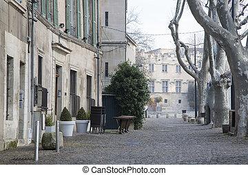 Place du Palais Square, Avignon, France