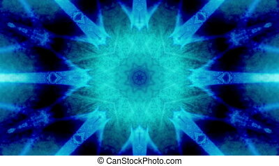 Abstract blue VJ loop R2 Three - Animated abstract blue VJ...