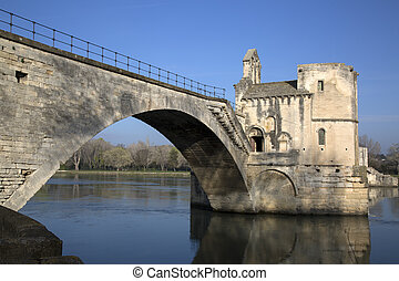 St Benezet Bridge, Avignon, France