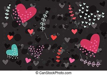 Urban heart pattern