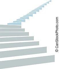 stair in sky