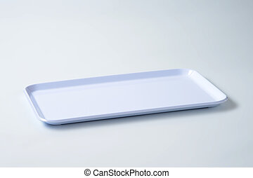 white serving tray - rectangular white plastic serving tray