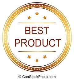 Best Product Badge and seal Vector image