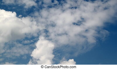 Clouds - Puffy clouds