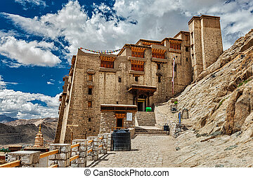 Leh palace, Ladakh, India - Leh palace in Ladakh, Jammu and...