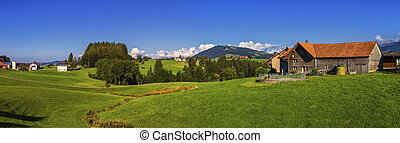 Appenzell landscape, Switzerland - Appenzell landscape and...