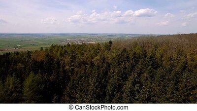 Luftaufnahmen, bayerischer, Landschaften, deutschland,
