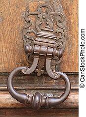 Knocker - Ancient Door Knocker in Paris
