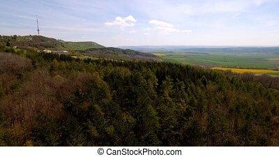 4K, Luftaufnahmen, bayerischer, Landschaften, deutschland,