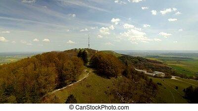 4K Aerial, Bavarian Landscapes, Germany - graded footage