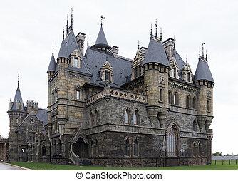 Tourist center Castle Garibaldi in a village near Togliatti...
