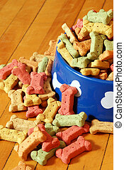 Abundant Dog Treats - An over abundant supply of various dog...