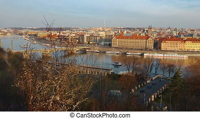 Panoramic View Above Prague city - Panoramic View Above...