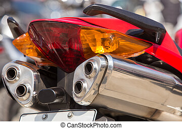 motorcycle exhaust pipes - Powerful motorcycle exhaust pipes...
