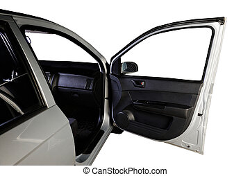 front passanger door - front open passanger door of...