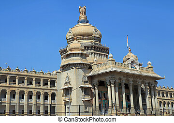 Vidhana Soudha ,Bangalore - BANGALORE, INDIA - Dec13, 2015:...