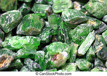 green verdelite mineral texture as nice natural background