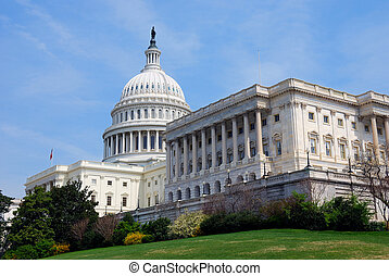 Capitol Hill, USA, Washington DC - American Capitol Hill...