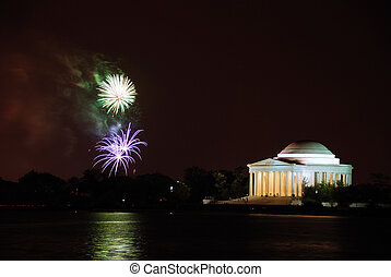 Jefferson Memorial, Washington DC.
