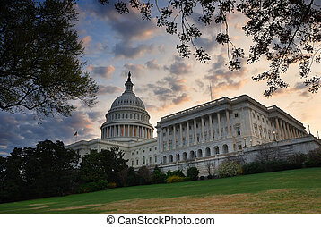 Capitol Hill Building, Washington DC