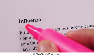 Medical Condition Influenza Flu - Close up shot of a person...