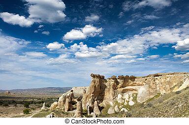 Beautiful Cappadocia landscape