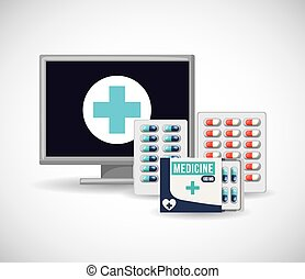 pharmacy store design, vector illustration eps10 graphic