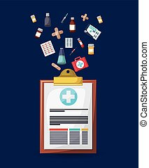 pharmacy store design - pharmacy store design, vector...