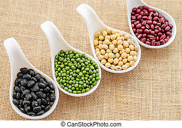Mix of seeds beans - Mix of seeds beans, green bean, azuki...