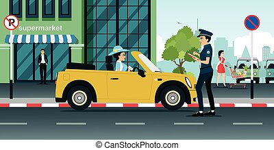 Traffic police Illustrations and Clip Art. 3,438 Traffic police ...