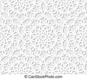 Seamless arabic geometric  pattern, east ornament, indian ornament, persian motif, vector. Endless texture can be used for wallpaper, pattern fills, web page  background,surface textures.