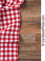 Red Checked Table Cloth - Red and white checkered table...