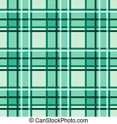 Emerald hues seamless checkered pattern - Seamless checkered...