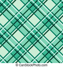 Emerald hues seamless diagonal pattern - Seamless diagonal...
