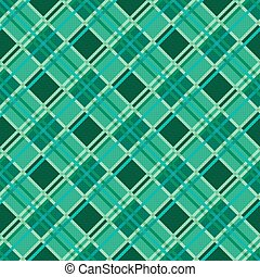 Seamless diagonal pattern in Emerald - Seamless diagonal...