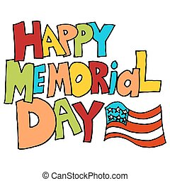 happy memorial day in message